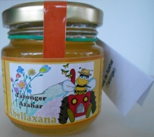Miel cruda de Naranjo 190g. Artesanal.