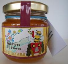 Miel cruda de Milflores 190g. Artesanal.